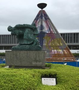 広島平和記念公園に行ってきました
